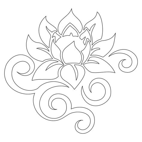 lotus flower template 25 best ideas about flower stencils on flower