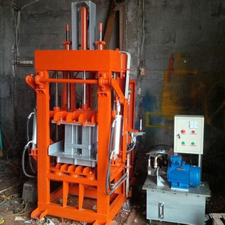 Jual Mesin Cetak Batako Hidrolis mesin cetak paving hidrolis saudara teknik