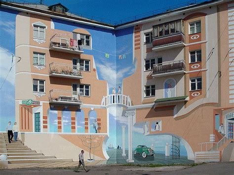 Outdoor Flooring Canada by Murals On Buildings From Around The World Idesignarch