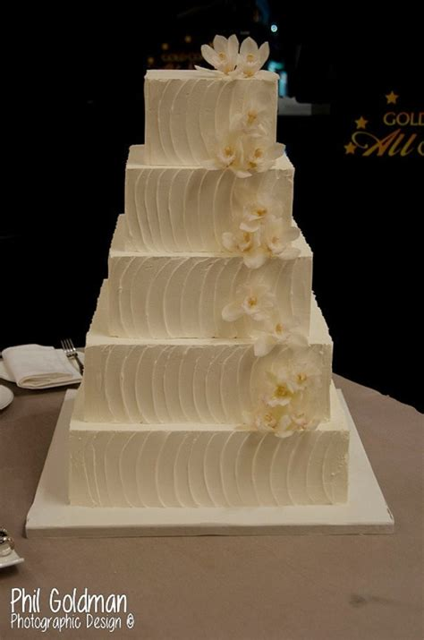 Square Wedding Cakes by Best Square Wedding Cakes Www Pixshark Images