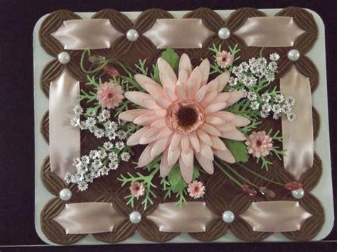 How To Make A Beautiful Handmade Folder - beautiful handmade card embossing folder w sections