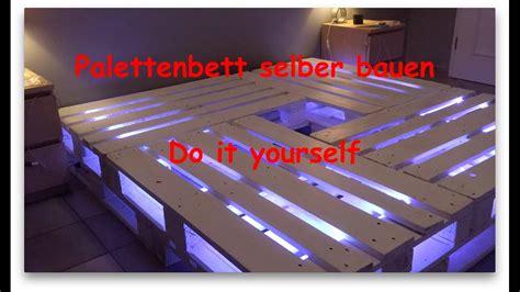 bett 140x200 selber bauen palettenbett selber bauen