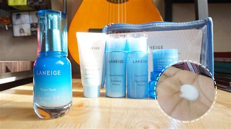 Laneige Essential Care Trial Set review laneige essential care trial set moisture the blahger