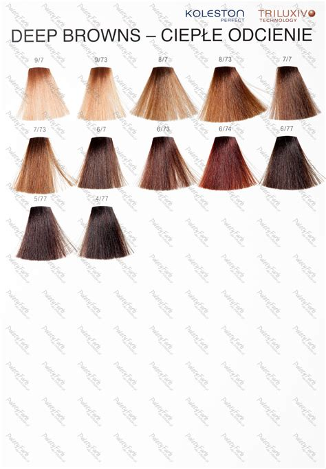 koleston color chart wella koleston 100 genuine naturals range