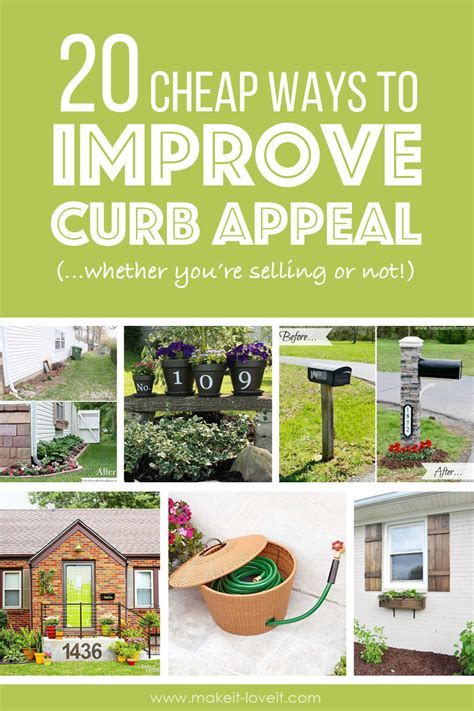 cheap ways to add curb appeal 20 cheap ways to improve curb appeal if you re selling
