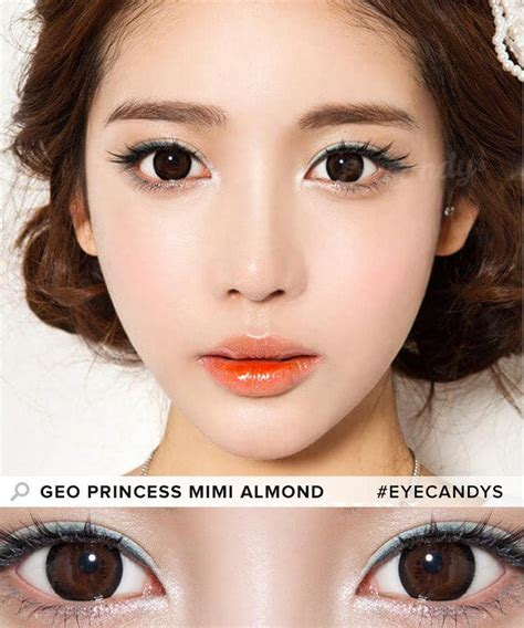 colored circle lenses buy geo princess mimi almond brown circle lenses eyecandys