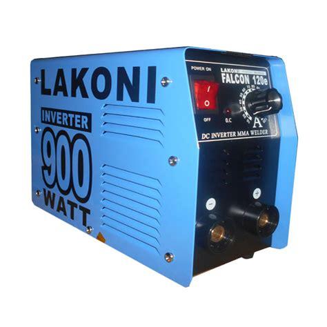 Gojek Lakoni Las Trafo Listrik Inverter 900 Watt Falcon 120e 120 E jual lakoni inverter falcon 120e 900 watt mesin las biru