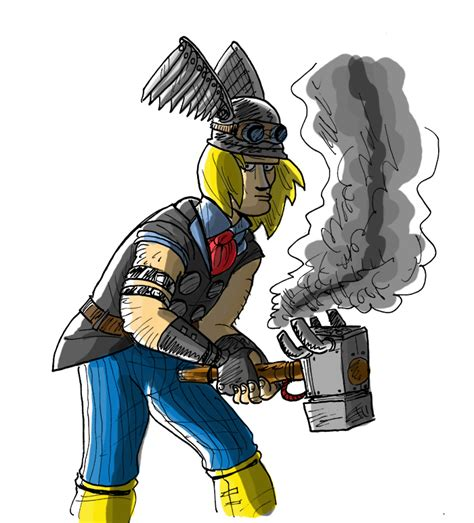 thor colors steunk thor colors by frobman by lesam on deviantart