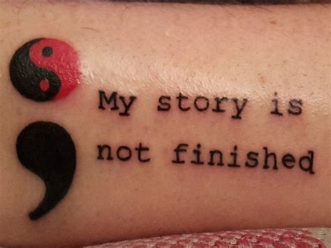 what is the meaning of a semicolon tattoo 523 best images about tattoos on catcher