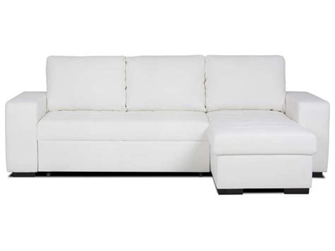 canape d angle convertible blanc canap 233 d angle r 233 versible et convertible 4 places romy