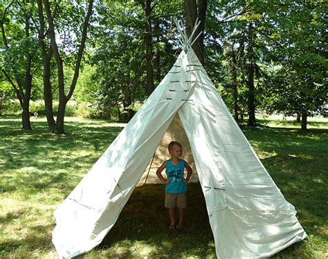 backyard teepee how tuesday backyard teepee the etsy blog