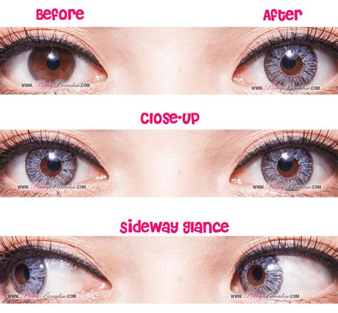 city colored contacts grey circle lenses colored contacts pinkyparadise