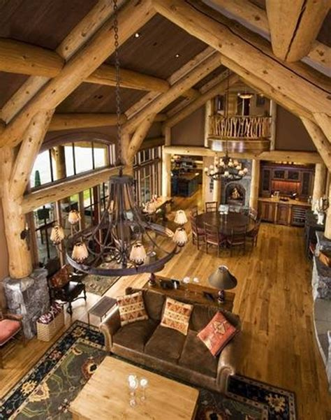 design brief for log cabin log home plans with interior photos