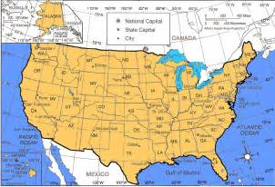 latitude and longitude map of united states