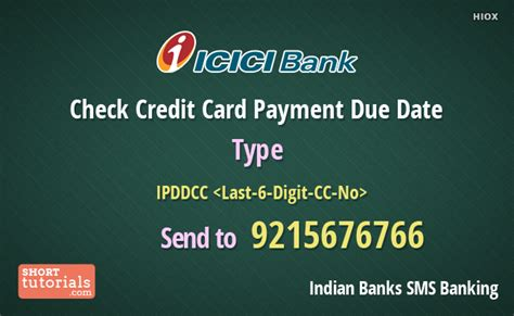 make payment of icici credit card icici bank check credit card payment due date