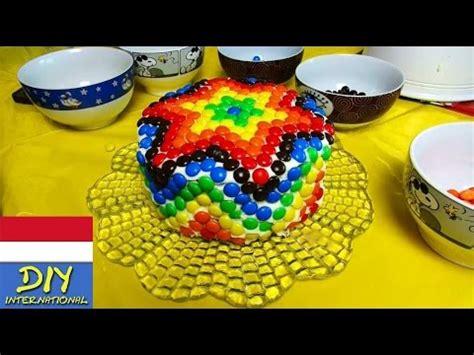 youtube membuat kue tart membuat kue tart pelangi kue ulang tahun rainbowcake eva