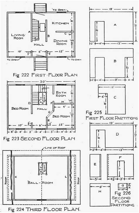 wooden doll house plans free wooden doll house plans how to make a wooden doll house ency123 learn create have fun