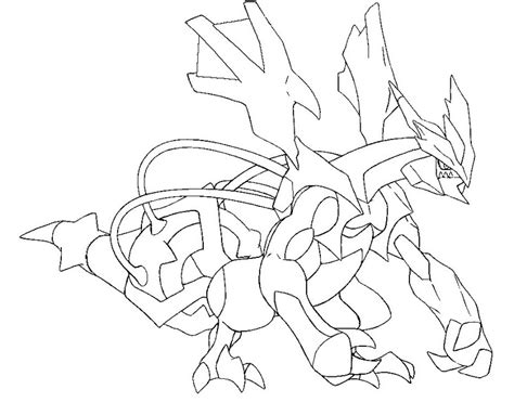 pokemon coloring pages black kyurem black kyurem pokemon free coloring pages