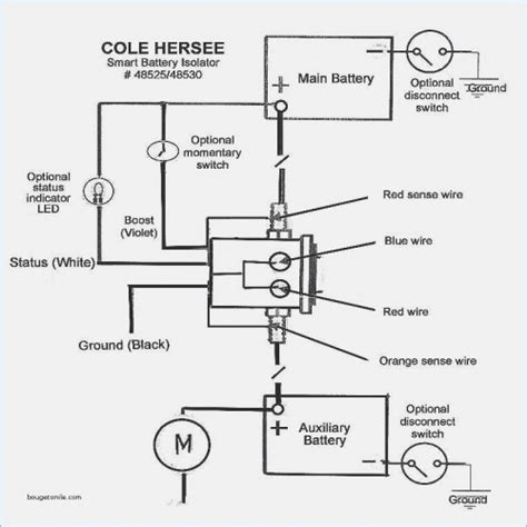 Cole Hersee 24059 Wiring Diagram