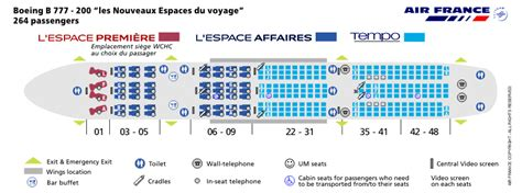 France airlines aircraft seatmaps airline seating maps and layouts