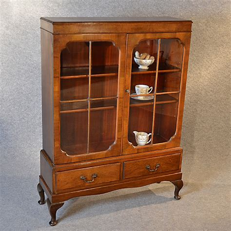 antique display cabinet china cupboard bookcase