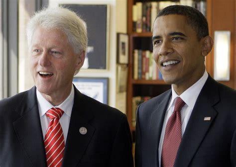 file barack obama and bill clinton in the oval office jpg soul brothers carter clinton obama phil ebersole s blog