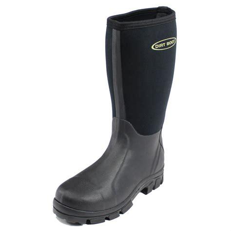 dirt boot dirt boot 174 neoprene wellington muck field fishing boots