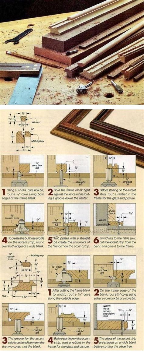 picture frame woodworking plans 1869 best images about sawdust and filings on