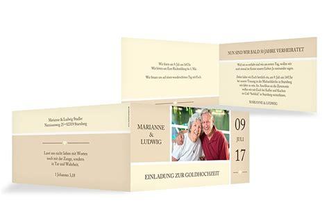 Einladung Zur Goldenen Hochzeit by Einladung Goldene Hochzeit Quot Herzenszeit Quot