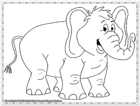 printable coloring pages elephant elephant coloring pages printable free printable