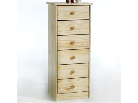 Commode En Pin Naturel by Chiffonnier Commode Apothicaire Pin Massif Vernis Naturel