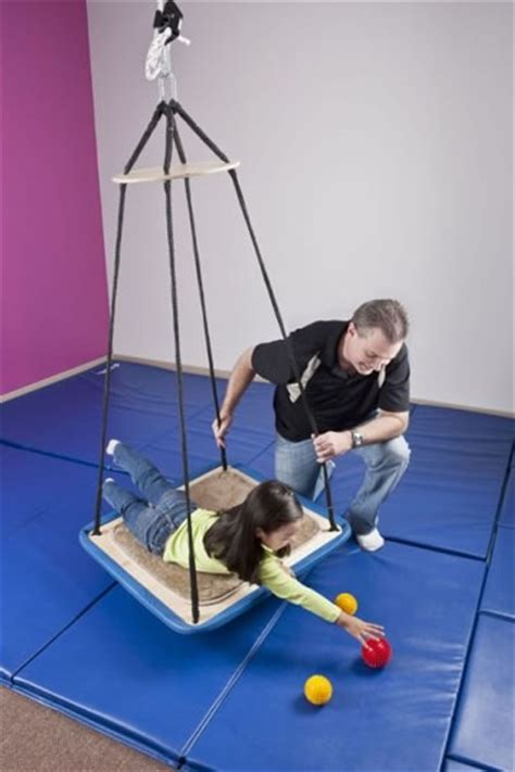 platform swing therapy pediatric swings swing frames special needs swing on