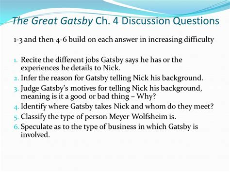 theme theories great gatsby answers symbols in the great gatsby ppt video online download