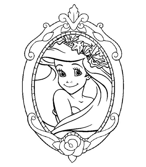 Disney Princesses Coloring Page Coloring Home Disney Princess Minimalist Free Coloring Sheets