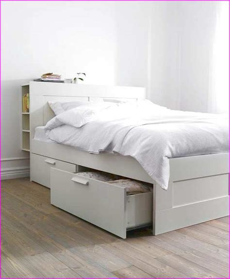Ikea White Bed Ikea Full Bed Frame White Home Design Ideas