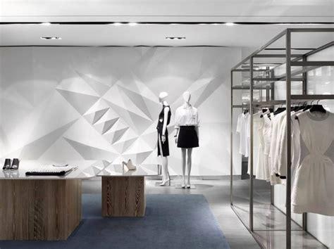 Retail Spaces Buku Interior neutral couture retail spaces seoul department store
