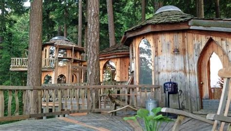 houses for rent washington state fanciful hobbit house reimagines the treehouse mnn