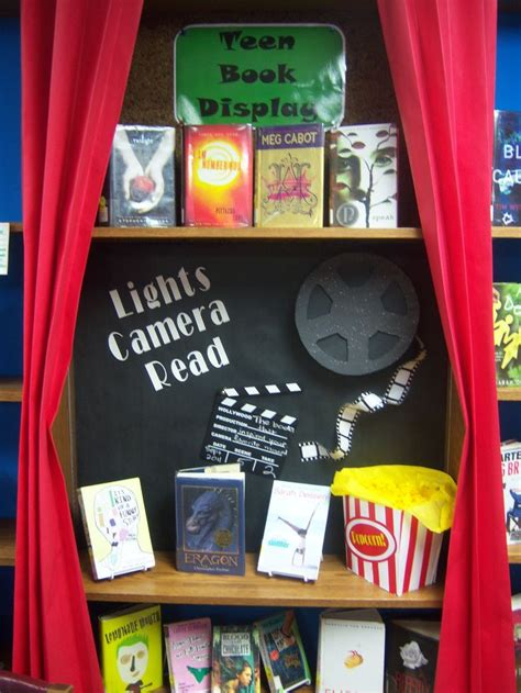 library book display ideas hubpages 17 best images about theater theme classroom on