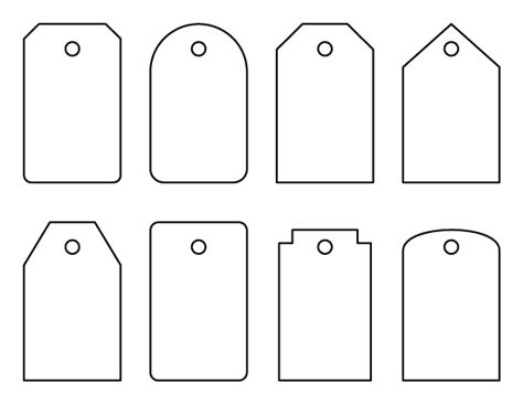 pattern for name tags luggage tag pattern these could also be used as gift tags