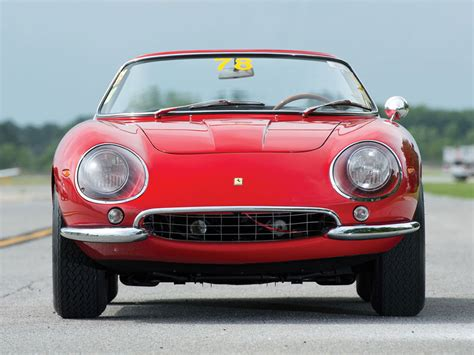 rare ferrari rare ferrari 275 gtb 4 n a r t spyder on rm auction