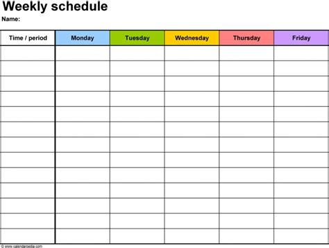 Free Activity Calendar Template by Workout Calendars 2016 Printable Free Calendar Template