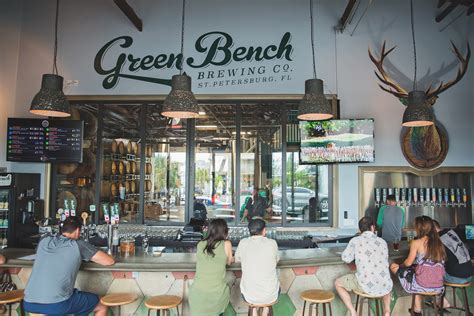green bench green bench monthly s st pete brewery tour green bench