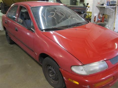 is mazda a foreign car parting out 1995 mazda protege stock 120320 tom s