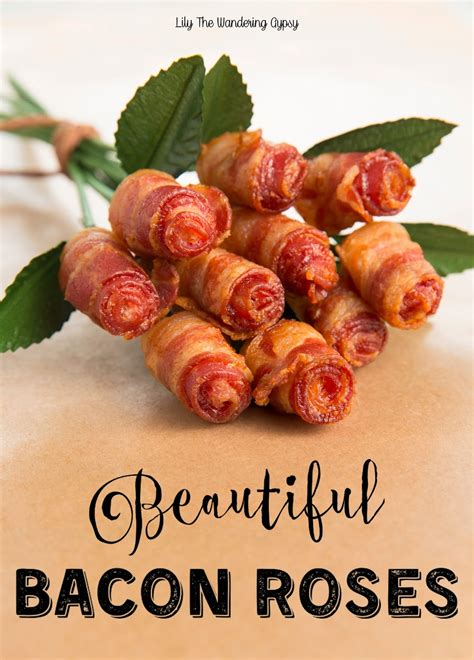 Can Toaster Oven Be Used For Baking Lily The Wandering Gypsy A Bouquet Of Bacon Roses