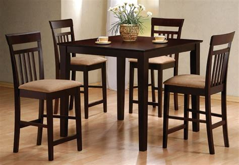 counter high dining set home and interior design - High Top Dining Room Set