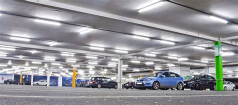 Parking Garage Lighting by Parking Garages Bravo Lighting