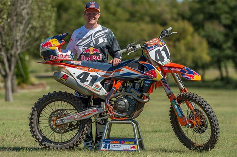 ktm motocross motocross action magazine it s official trey canard joins