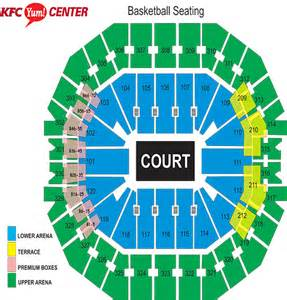 Kfc Yum Center Floor Plan Kfc Yum Center Floor Plan Yum Home Plans Ideas Picture