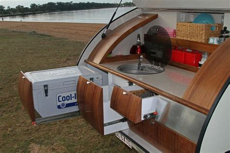 cer trailer kitchen ideas gidget retro teardrop cer trailer kitchen 2 cars