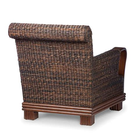 chair couches palecek havanawood lounge chair 7618 rattan wicker furniture
